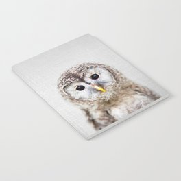 Baby Owl - Colorful Notebook
