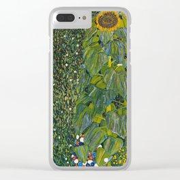 Gustav Klimt - The Sunflower Clear iPhone Case