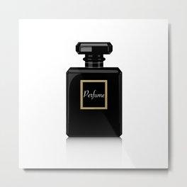 black perfume Metal Print