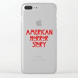 american horror Clear iPhone Case