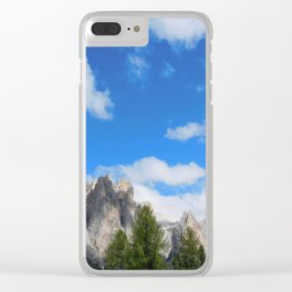 Dolomites Clear iPhone Case