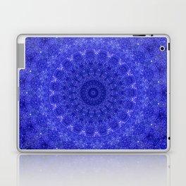 Cosmos Mandala II Cobalt Blue Laptop & iPad Skin