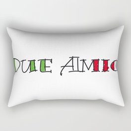 Due Amici Rectangular Pillow