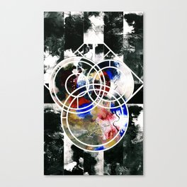 MAP of IGRZYSKO, TEMPEST, & the Chaos Board by AWOS Canvas Print