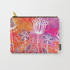 Watercolor Flowers 2 Carry-All Pouch