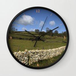 A Winter Wall Wall Clock