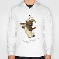 jack russell Hoodies featuring Jack Russell by ari-s