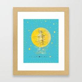 Teleportation - A Better Way to Travel Framed Art Print