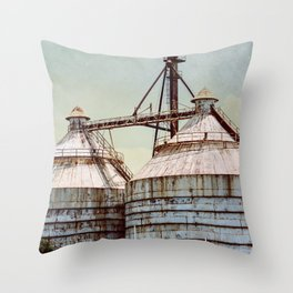Magnolia Market Silos Waco Texas Throw Pillow