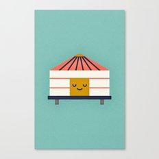 Yurt Canvas Print