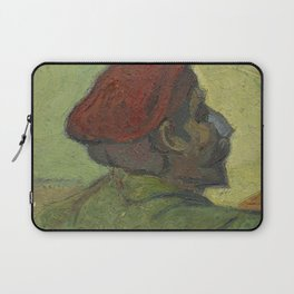 Paul Gauguin (Man in a Red Beret) Laptop Sleeve