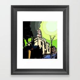 The House of Pollution Framed Art Print