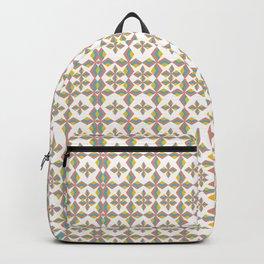 Mid Century Geometric Backpack