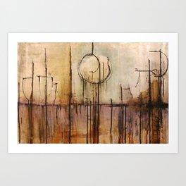 Sinking Spirit Art Print