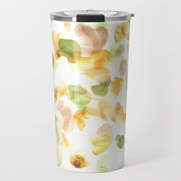170722 Colour Loving 14  |Modern Watercolor Art | Abstract Watercolors Travel Mug