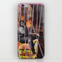 mac iPhone & iPod Skins featuring Big Mac by Ibbanez