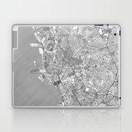 Manila Map Line Laptop & iPad Skin