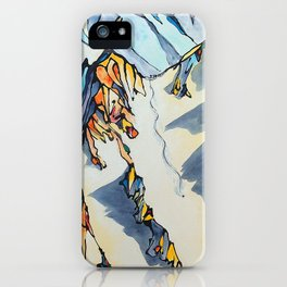 Powder Pig iPhone Case