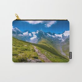 Glacier walks Carry-All Pouch