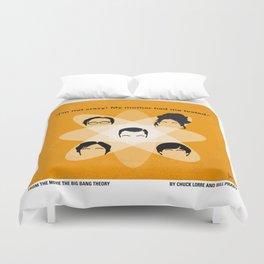 No196 My The Big Bang Theory minimal poster Duvet Cover
