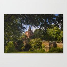Port Sunlight Village in Summer Canvas Print