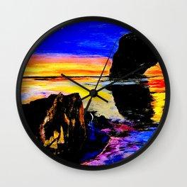 Cordova Sunset Wall Clock