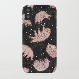 Tardigrades in Space iPhone Case