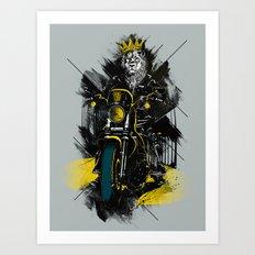Sons Of Monarchy Art Print