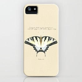 Psalm 61:4 iPhone Case