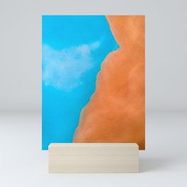 Cliff face Mini Art Print