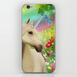 Magical Forest Unicorn iPhone Skin