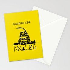 Snake and Band (Analog Zine) Stationery Cards