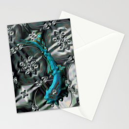 Gnarly Fish Stationery Cards