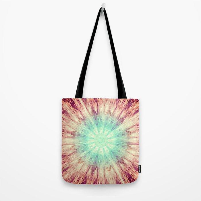 Mandala Glow Tote Bag