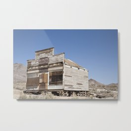 Rhyolite Death Valley Metal Print