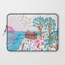 Cliff Top Cabin Laptop Sleeve