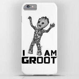 BabyGroot iPhone Case