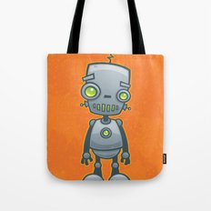 Silly Robot Tote Bag