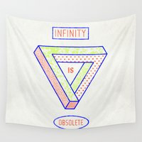escher Wall Tapestries featuring NONFINITY by ICE CREAM FOR FREE