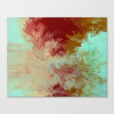 Blue,Yellow, Red Canvas Print