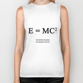 E=MC2 Biker Tank