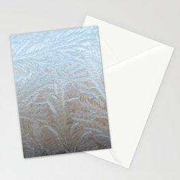 Copenhagen, Denmark | Nature Print | Ice Crystals | Winter Print Stationery Cards
