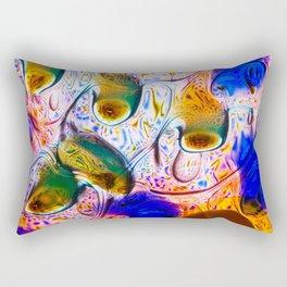 Abstraction Melt Rectangular Pillow