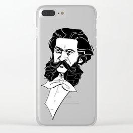 Johann Strauss Jr. Clear iPhone Case