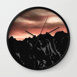 Cascade Morning Wall Clock