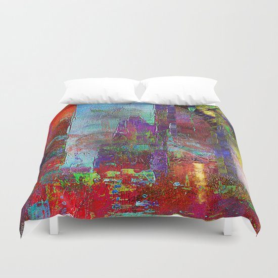 Disintegration Duvet Cover