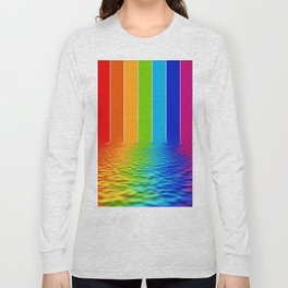 spectrum water reflection Long Sleeve T-shirt