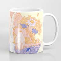 paradise Mugs featuring Paradise by Andrew Henry