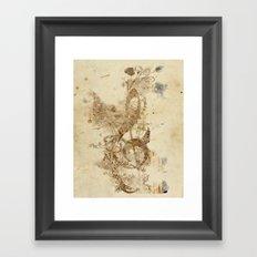 the golden key Framed Art Print