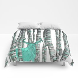 Turquoise Stag Comforters